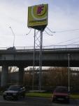 Reklamný panel - kovová konštrukcia